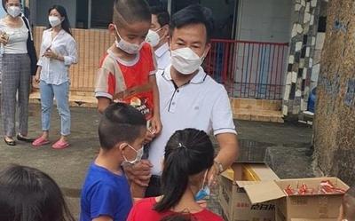 168 trẻ em mồ côi và bảo mẫu ở trung tâm nhân đạo Quê hương dương tính với Covid-19 đã hồi phục