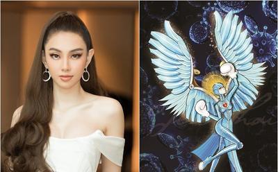 Thùy Tiên chọn National Costume mang tinh thần chống dịch Covid-19 đến Miss Grand