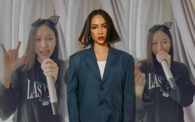 Thay vì nhảy, Diệu Nhi bắt trend Lalisa cực chất với màn rap 'lấn át bản gốc'