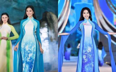 Fan sắc đẹp phát sốt vì chiếc áo dài 'thần thánh', cứ mặc lên là auto thành Hoa hậu