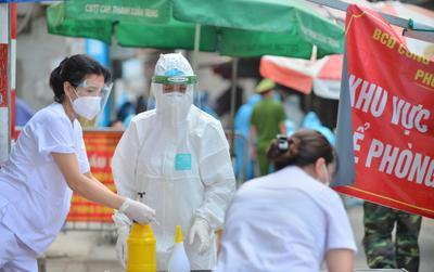 Trưa 19/9: Hà Nội thêm 12 ca dương tính SARS-CoV-2 trong đó 10 ca ở khu cách ly