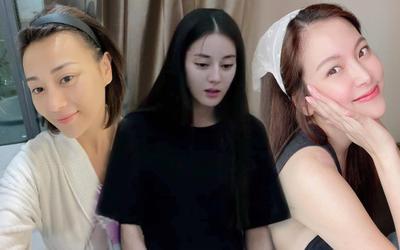 Đọ mặt mộc của dàn nữ diễn viên Thái - Trung - Việt: Người đẹp sắc sảo, người để lộ nhiều khuyết điểm