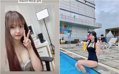 Khoe vòng 1 lấp lửng căng tròn khi thông báo livestream, nàng streamer khiến netizen 'lót dép hóng'