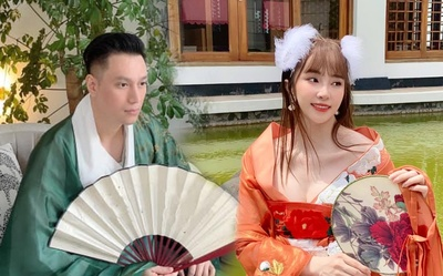 Hậu nghi vấn sống chung, Quỳnh Nga và Việt Anh cùng hóa chị Hằng chú Cuội 'hạ phàm' chơi trăng