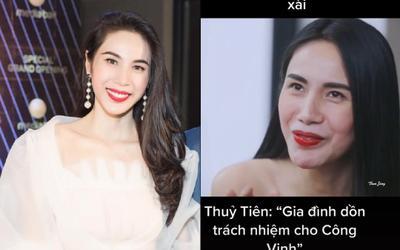 Netizen 'đào' lại phát ngôn của Thủy Tiên: Đưa tiền cho Công Vinh tiêu, bị bố mẹ chồng cấm cản