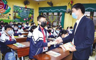 Một địa phương cho học sinh trở lại trường vào ngày 24/9