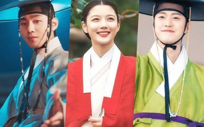 Hậu trường 'Bầu trời rực đỏ': Sau cảnh hôn là gì mà sao Ahn Hyo Seop cười như được mùa vậy?