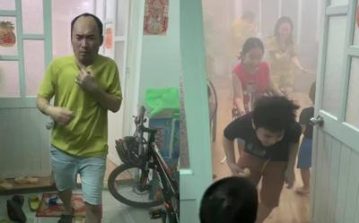 Tiến Luật 'xém cháy nhà' vì lý do khó đỡ, hóa ra tất cả là vì Thu Trang