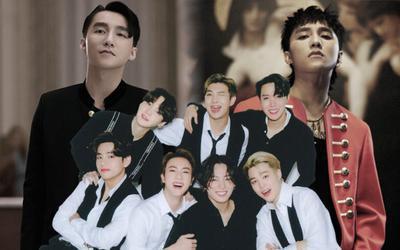 BTS tiếp tục có video dùng nhạc Sơn Tùng để minh họa, hợp cỡ nào mà fan khen 'nhức nách'?