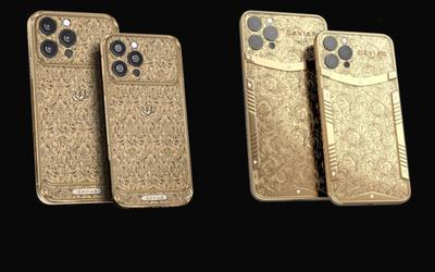 Ngắm chiếc iPhone 13 được làm bằng vàng nguyên chất, có giá lên tới cả tỷ đồng