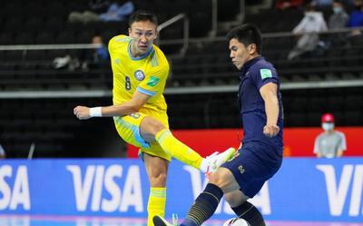 Thái Lan thảm bại ở vòng knock-out FIFA Futsal World Cup 2021