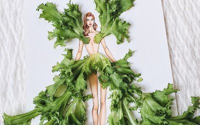 Thích thú với váy dạ hội lộng lẫy từ khẩu trang, vỏ cam, kêu gọi bảo vệ sức khoẻ mùa Covid