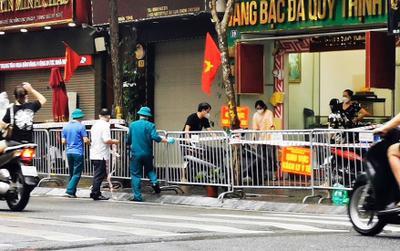 Hà Nội: Phong toả một đoạn phố Trần Nhân Tông sau khi phát hiện ca F0 mới