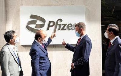 Pfizer vừa cam kết cung cấp đủ 31 triệu liều vaccine cho Việt Nam trong năm 2021