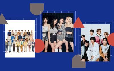 BXH thương hiệu ca sĩ Kpop tháng 9/2021: BlackPink bùng sức trở lại so kè với BTS, NCT vươn lên top 5
