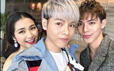 Gia đình 'Hoa Dâm Bụt' và loạt sao Việt lên tiếng khi Hòa Minzy khoe ảnh rạn da sau sinh bé Bo