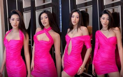 Khánh Vân biến hoá bộ váy phong thủy đưa cô vào Top 21 Miss Universe với 1001 style đẹp xỉu