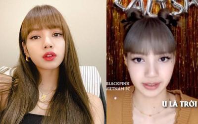 Lisa (BLACKPINK) bất ngờ nói 'U là trời' cực tròn vành rõ chữ, nữ idol 'cưng fan' nhất là đây!