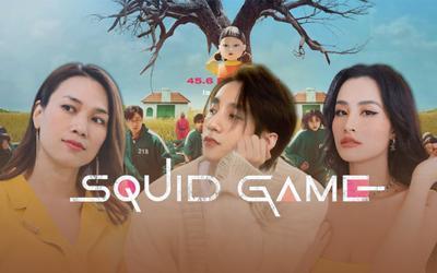 Sơn Tùng, Đông Nhi, Mỹ Tâm và loạt sao Vpop nhập hội Squid Game: Mỗi người một kiểu, 'lầy' đủ vẹn mười