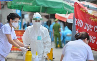 Trưa 28/9, Hà Nội ghi nhận 2 ca dương tính mới với SARS-CoV-2 đều đã được cách ly