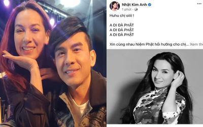 Sao Việt xúc động chia buồn, 'nhuộm đen' mạng xã hội trước tin Phi Nhung qua đời