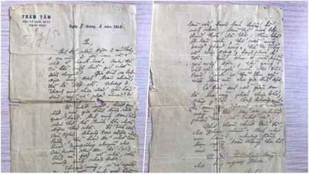 Cảm động lá thư cuối cùng của người lính gửi cho vợ trước lúc hy sinh