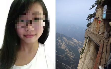 Nữ sinh mất mạng khi selfie trên đỉnh núi 2.000 mét
