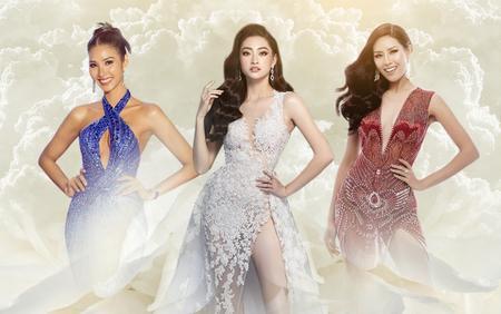 Hoàng Thùy lỡ duyên diễn váy dạ hội 'xịn xò', Lương Thùy Linh - Tường San chọn Evening Gown quá chuẩn xác