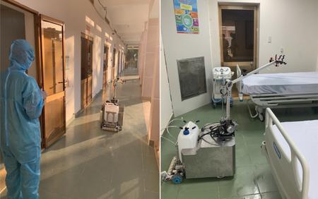 TP HCM chính thức đưa robot khử khuẩn phòng cách ly vào hoạt động tại bệnh viện dã chiến