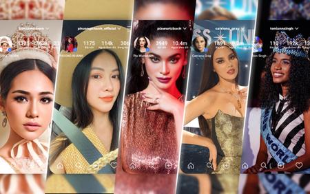 Đọ độ hot dàn hoa hậu Big 6: Phương Khánh 'cân team' Miss Earth, Pia Wurtzbach - Catriona Gray 'thống lĩnh hậu cung'