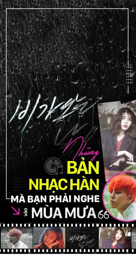 Những bản nhạc Hàn mà bạn phải nghe vào mùa mưa