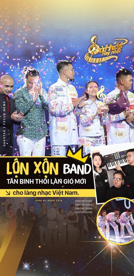Lộn Xộn Band – tân binh thổi làn gió mới cho làng nhạc Việt Nam