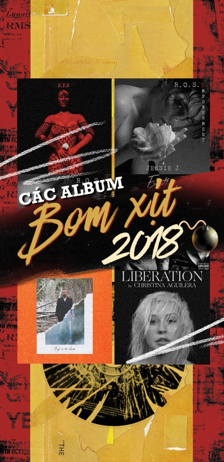 Trân trọng giới thiệu: Chủ nhân của những album 'bom xịt' US - UK 2018!