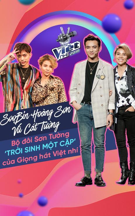 Soobin Hoàng Sơn – Vũ Cát Tường: Bộ đôi Sơn Tường 'trời sinh một cặp' của Giọng hát Việt nhí