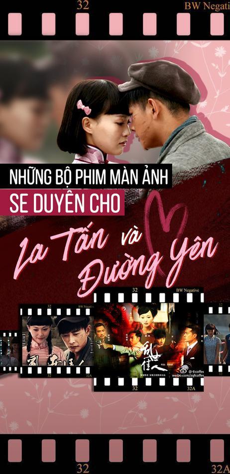 Những bộ phim se duyên cho Đường Yên và La Tấn