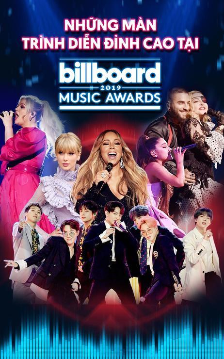Những màn trình diễn đỉnh cao tại Billboard Music Awards 2019