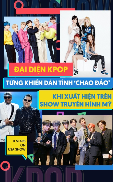 Đại diện Kpop từng khiến dân tình 'chao đảo' khi xuất hiện trên show truyền hình Mỹ