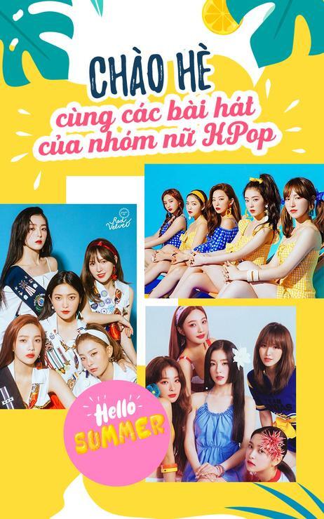 Hòa nhịp cùng những bài hát chào hè của các nhóm nữ Kpop