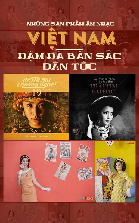 Những sản phẩm âm nhạc Việt Nam đậm đà bản sắc dân tộc