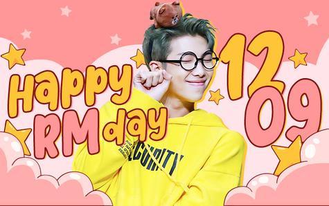 #HappyRMDay: Chàng thủ lĩnh BTS được trở về là Kim Namjoon và tận hưởng sinh nhật tuổi 26