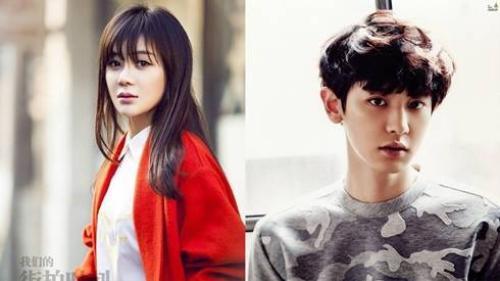 Viên San San bị ném đá vì đóng cặp cùng Chanyeol (EXO)
