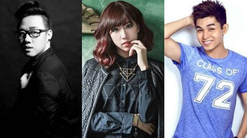 Trung Quân Idol, Min, Jun cùng hát nhạc phim ngôn tình