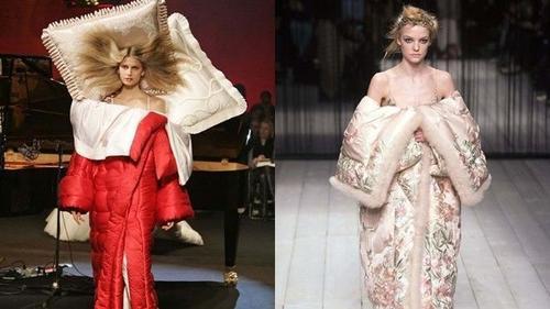 Lạ lẫm với xu hướng thời trang 'chăn cuốn'