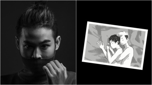 Em trai Thanh Duy đem đồng tính vào MV kinh dị gắn mác 16+