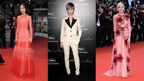 Những thiết kế của Gucci tung hoành thảm đỏ Cannes 2016