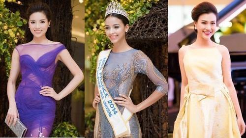 Gặp rắc rối vì diện váy xuyên thấu, Kỳ Duyên vẫn tự tin đọ sắc cùng dàn hoa hậu