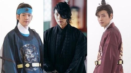 'Say đắm' trước tạo hình cổ trang của 5 chàng hoàng tử 'Bộ Bộ Kinh Tâm' bản Hàn