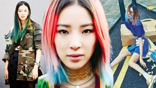 Sở hữu mái tóc 7 màu cực chất mùa hè này như Irene Kim