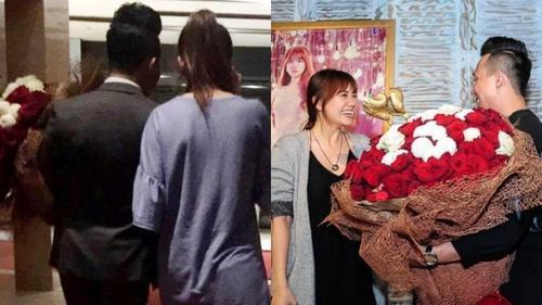 Nghi vấn Trấn Thành tặng lại hoa đã cầu hôn cho Hari Won tại buổi họp báo