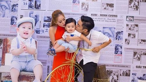 Khánh Thi - Phan Hiển hạnh phúc tổ chức sinh nhật tròn 1 tuổi cho con trai